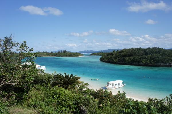 Kabira-Bucht auf der Insel Ishigaki