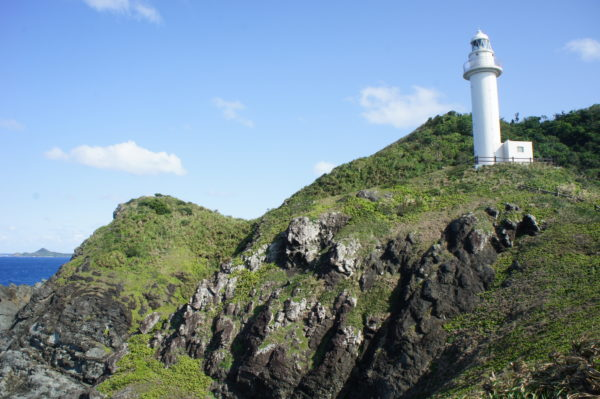 Leuchtturm am Oganzaki