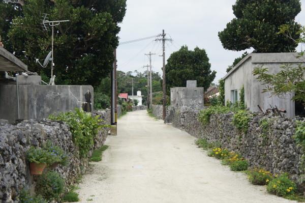 Typische Strasse auf Taketomi