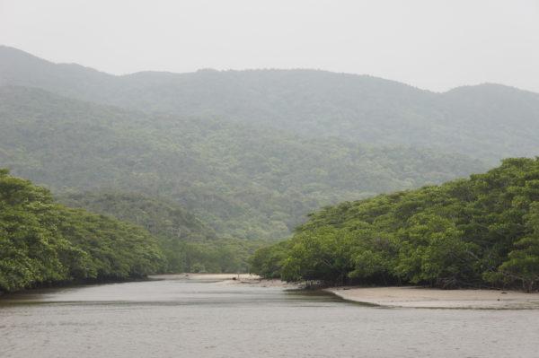 Der Nakama-Fluss im Südwesten
