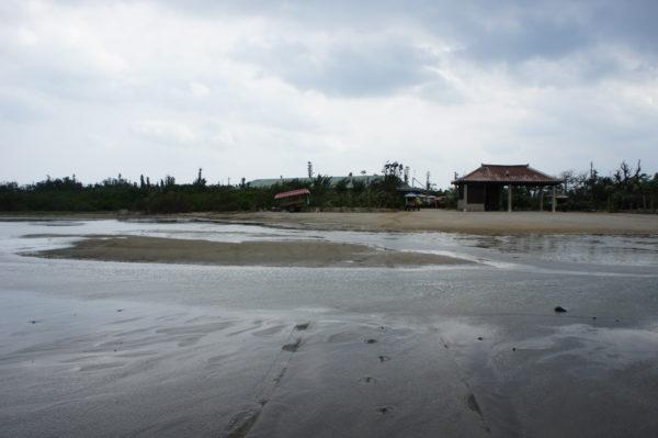 Blick von Iriomote auf die Insel Yubu