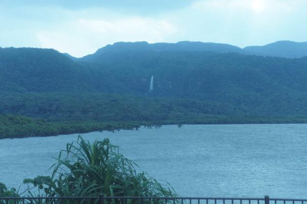 Wasserfall im Inselinneren