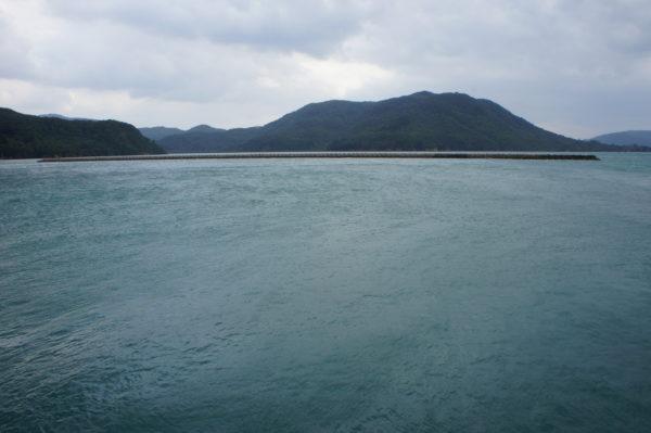 Im Westen der Insel: Nothafen bei Taifunen