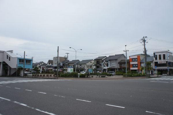 Im Stadtzentrum von Ryōtsu
