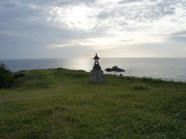 Insel Sado: Blick über das japanische Meer
