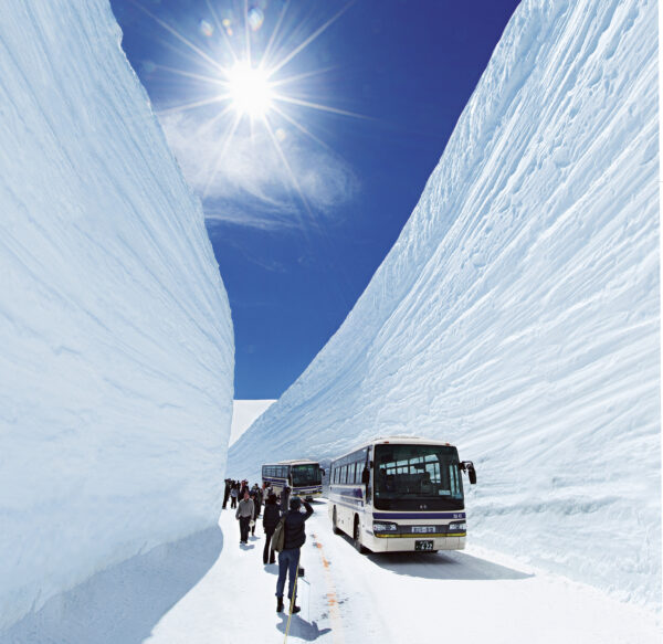 Die Tateyama Kurobe Alpenroute