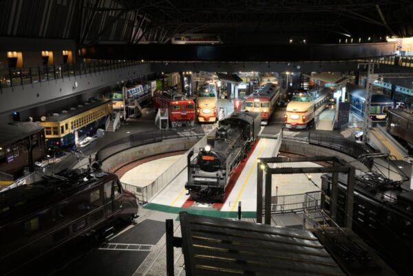 Eisenbahn-Museum. Photo mit freundlicher Genehmigung des Eisenbahnmuseums