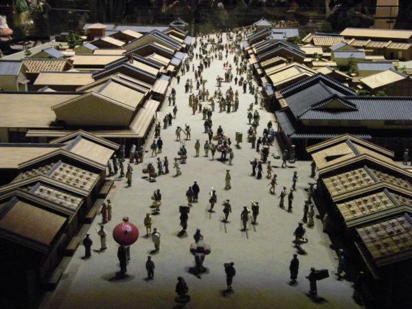 Eines der vielen Modelle des alten Edo