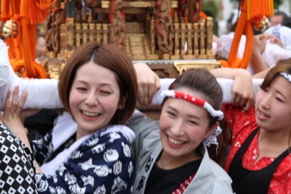 Hier dürfen auch die Frauen ran -- das ist nicht überall so in Japan
