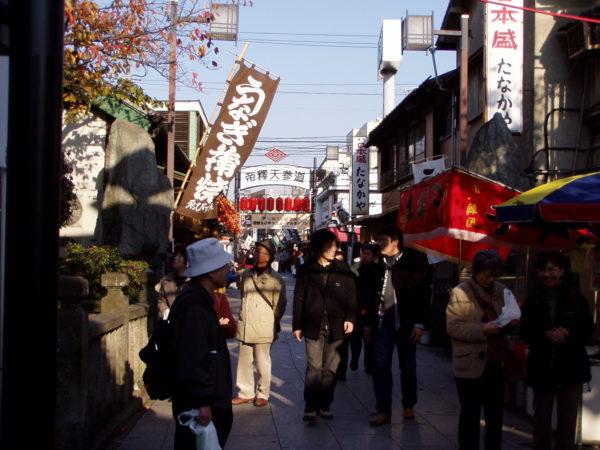 Altes Viertel in Shibamata