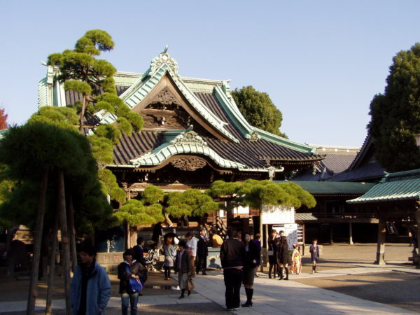 Haupthalle des Taishakuten
