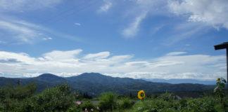In den Bergen von Myoko