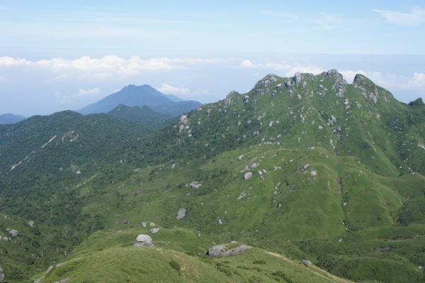 Blick vom Miyanoura-dake