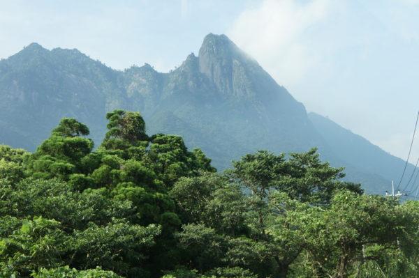 Berge im Südosten der Insel
