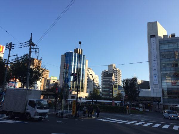Bahnhofsvorplatz von Ogikubo