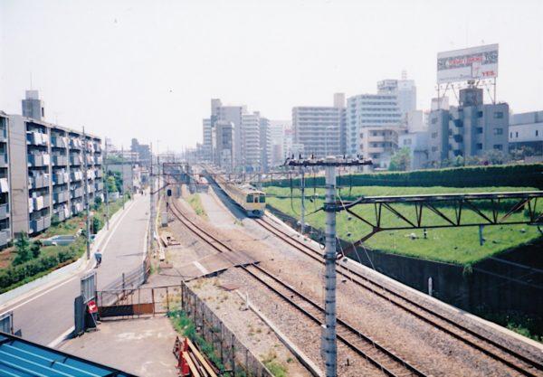 Seibu-Ikebukuro-Linie in Nerima-ku