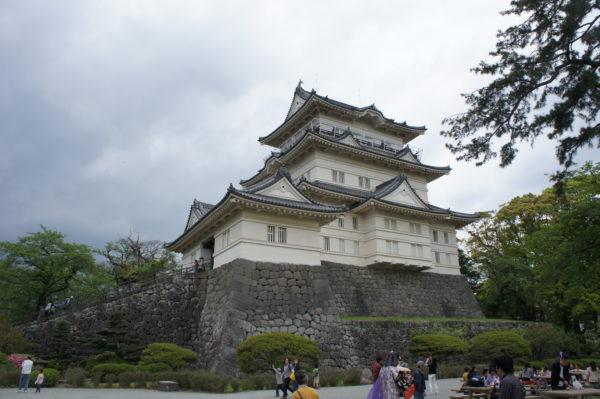 Donjon der Burg von Odawara (Odawara-jō)
