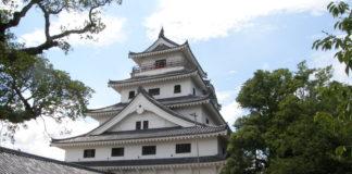 Der Donjon der Burg von Karatsu