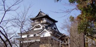 Der Donjon der Burg von Inuyama, dem Inuyama-jō
