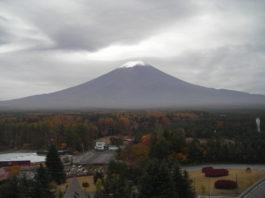 Erster Schnee - Mitte November, aufgenommen vom Norden