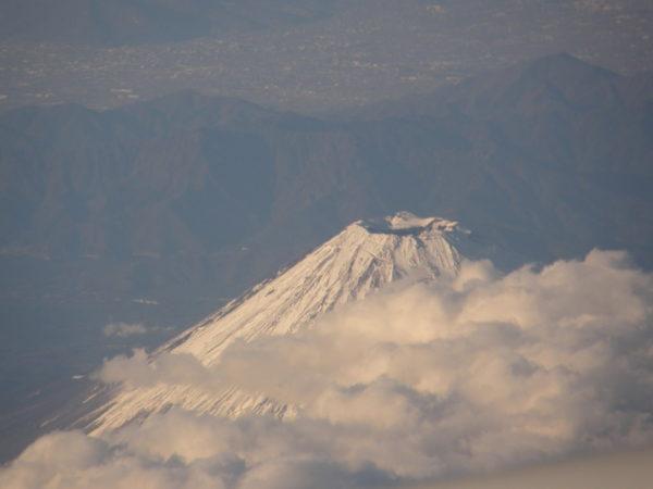 Gipfel, vom Flugzeug aus aufgenommen