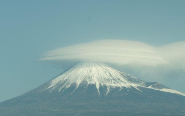 Der Fuji-san mit Fönhaube