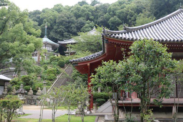 Im Kannon-Tempel - einer der 88 Pilgerstationen auf Shikoku