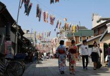 Kawagoe Anfang April