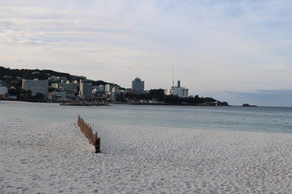 Markenzeichen der Stadt: Weisser Strand und klares Wasser
