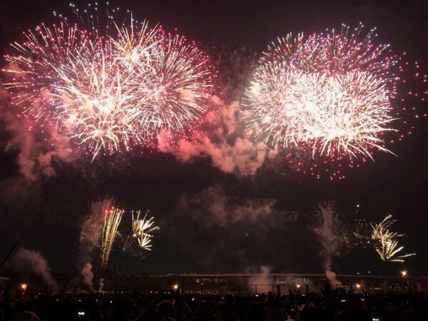 Feuerwerk in Atsugi
