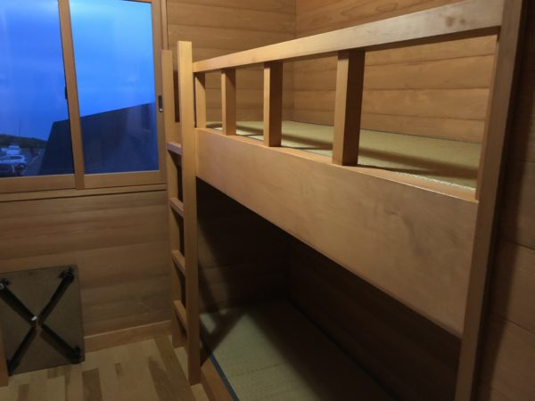 Zimmer in der Hokodate-Berghütte