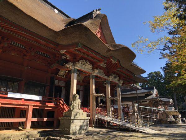 Der imposante Sanjin-Gosaiten