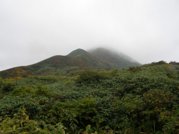 Am Gassan, unterhalb des Gipfels