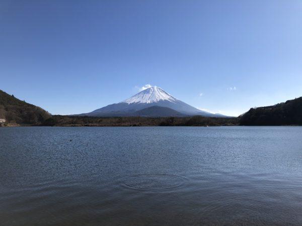 Blick auf den Fuji-san vom Shoji-ko