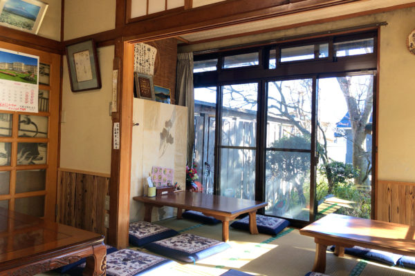 Im kleinen Udon-Restaurant Tenmen