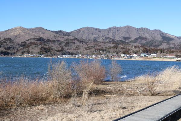 Das Nordostufer des Yamanakako