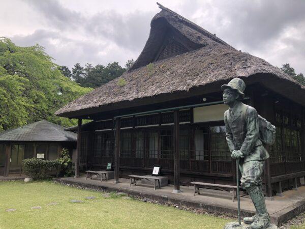 Prinz Chichibu-Statue vor dem alten Anwesen