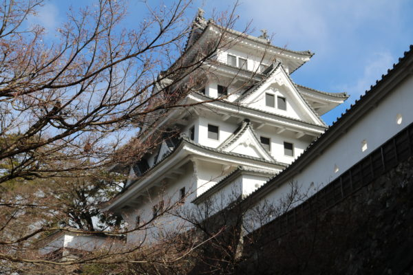 Hauptbau der Gujo-hachiman-Burg