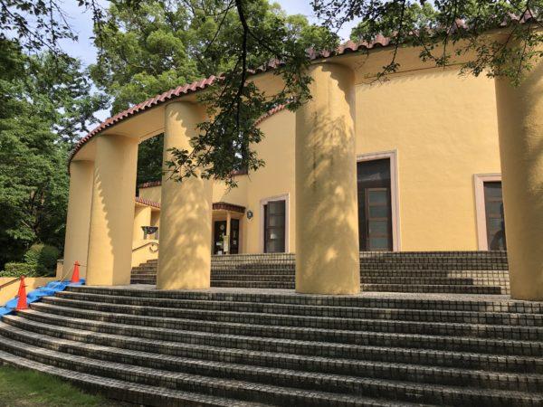 "Die ""alte Tama-Seiseki-Gedächtnisstätte"", heute Museum"