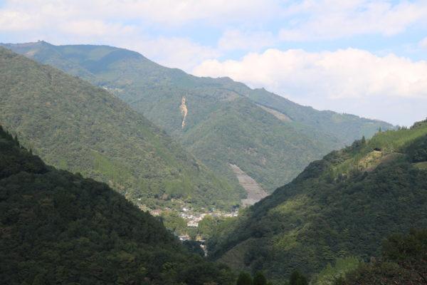 Kami-Shiiba tief in den Bergen