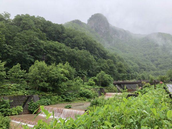 In der Soun-Schlucht bei Asahikawa