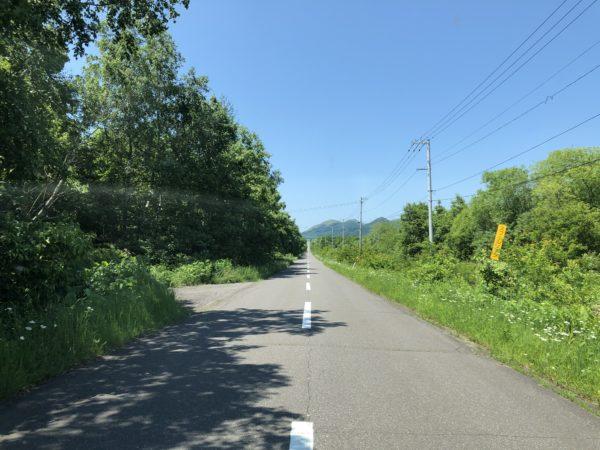 Kerzengerade Strassen prägen das Innere von Hokkaido