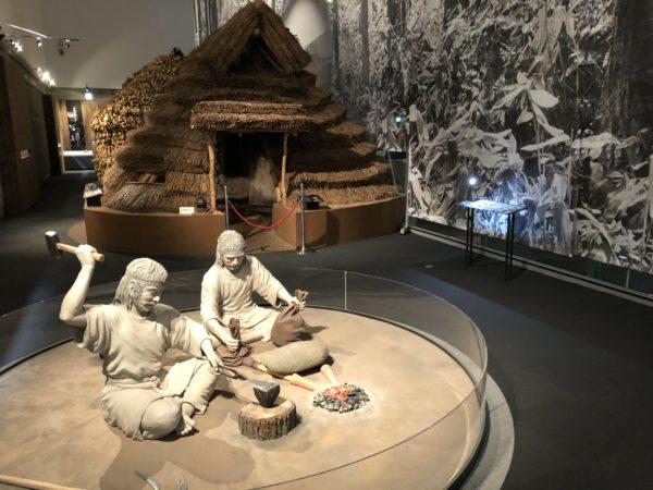 Ainu-Abteilung im Heimatmuseum