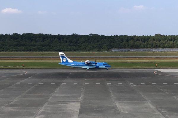 Flugzeug der Amakusa Airline