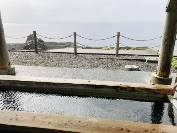 Kleines Fußbad am Meer - Ashiyu Kirameki