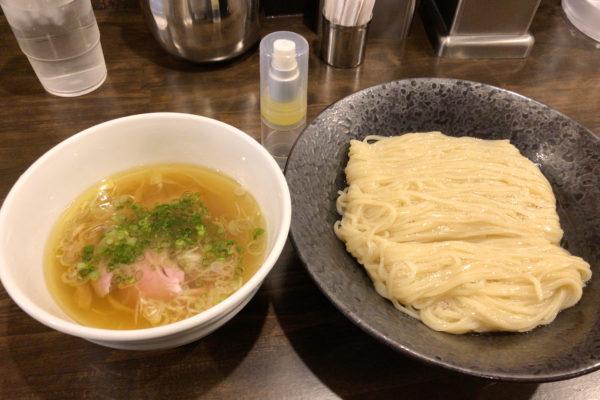 Tsukemen bei Shioramen Shinka in Machida
