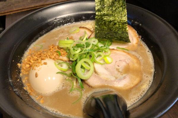 Ramen Kureha in Nishi-Tokyo: Tonkotsu-Ramen