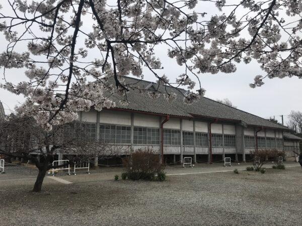Alte Fabrikhalle in der Seidenspinnerei