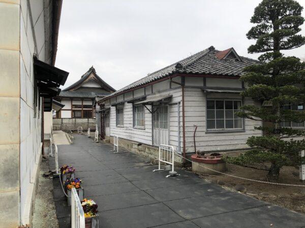 Alte Verwaltungsgebäude und Wohnhäuser der Vorsteher