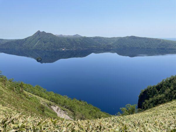 Nur 50 km entfernt liegt der Mashu-See - ein glasklarer Kratersee